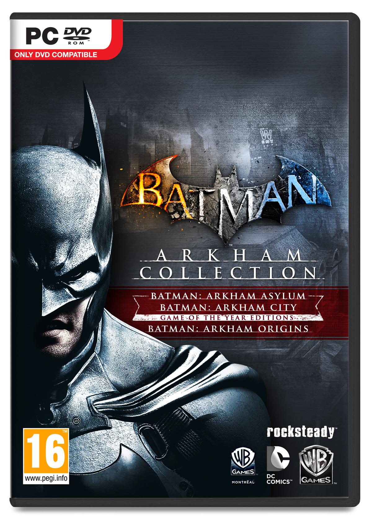 Do prodeje míří kolekce her Batman: Arkham 89991