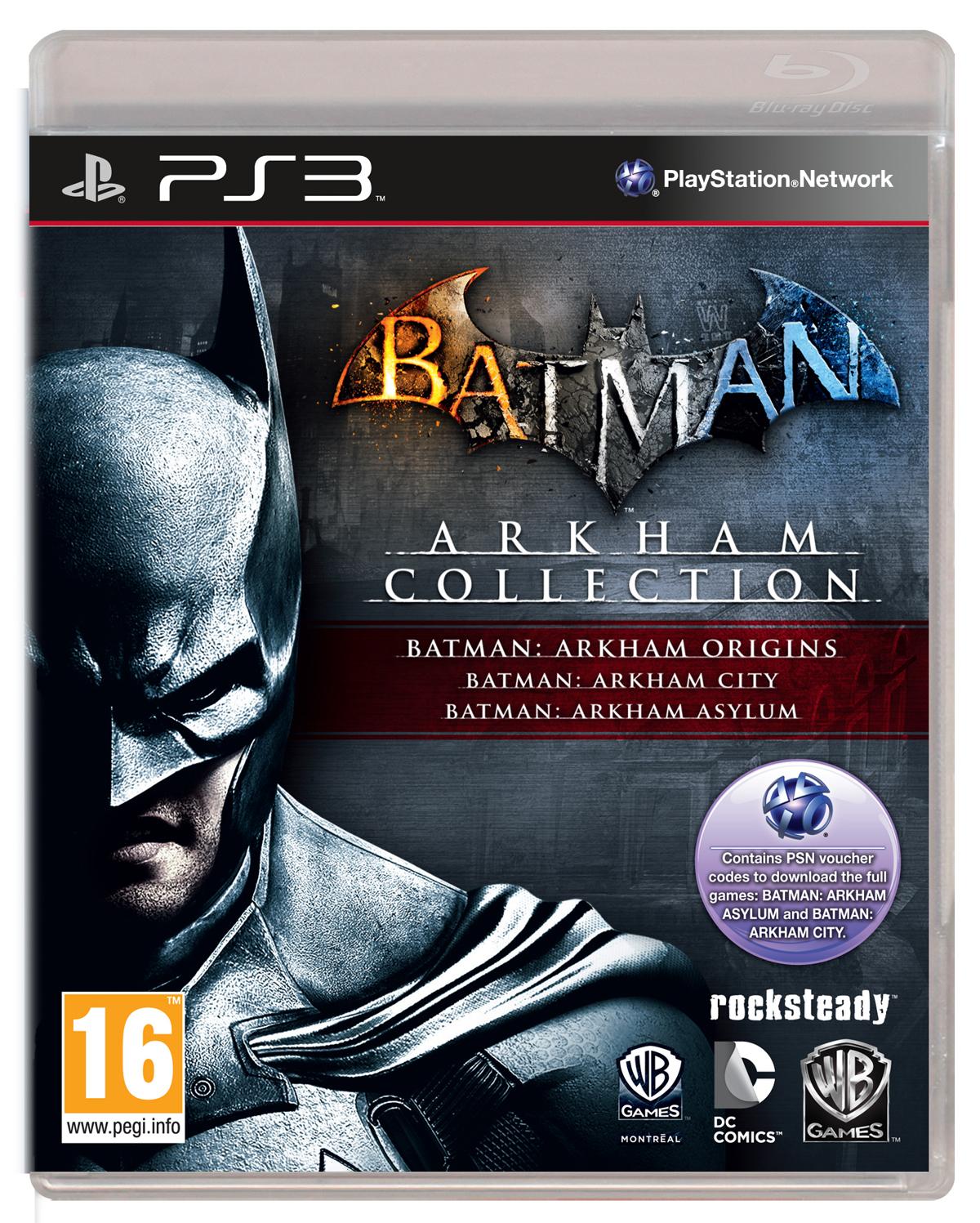 Do prodeje míří kolekce her Batman: Arkham 89992