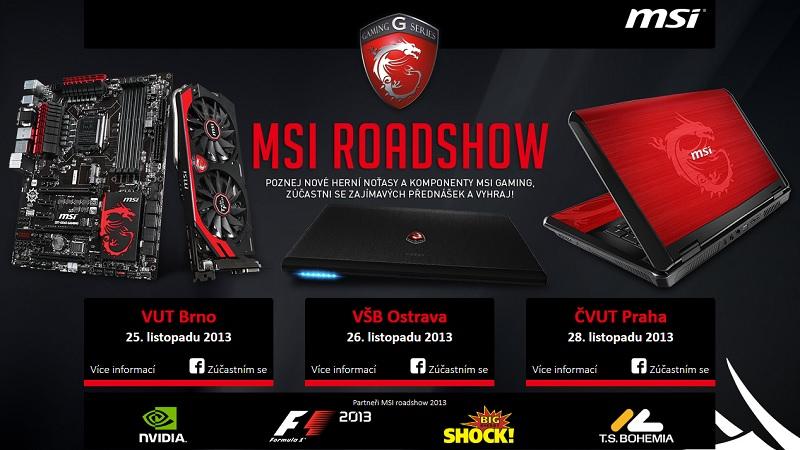 Zveme vás na MSI Gaming Roadshow 2013 90071