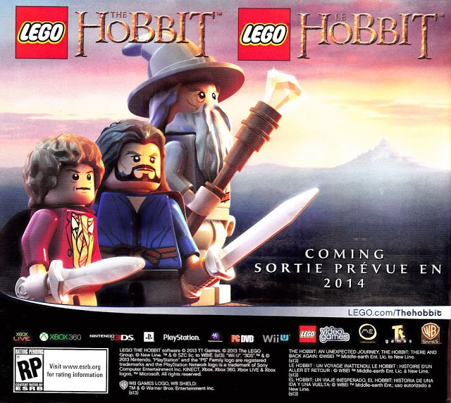 Herní Hobbit v kostičkové podobě? 90237