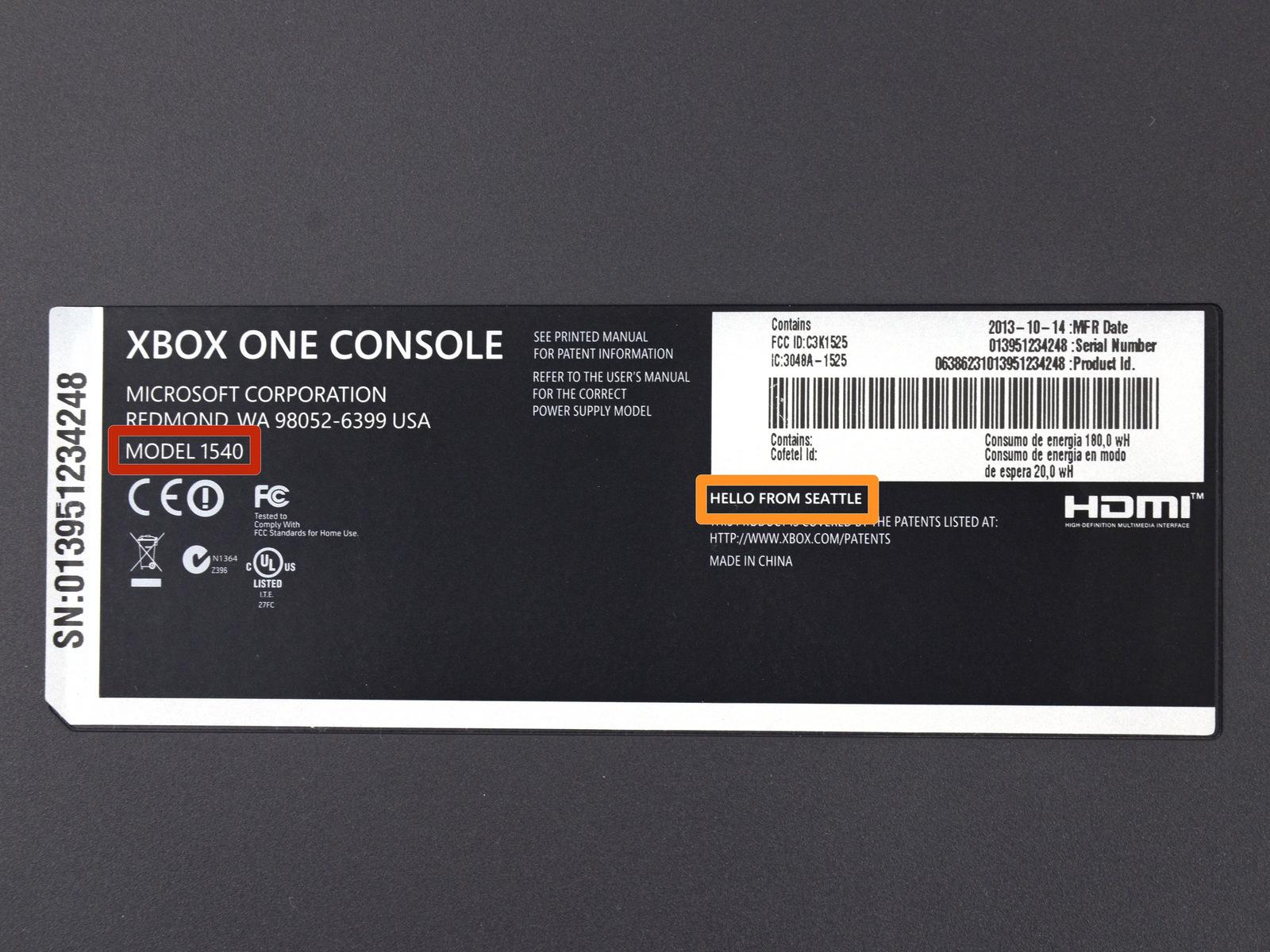 Fotografie rozebrané konzole Xbox One 90256