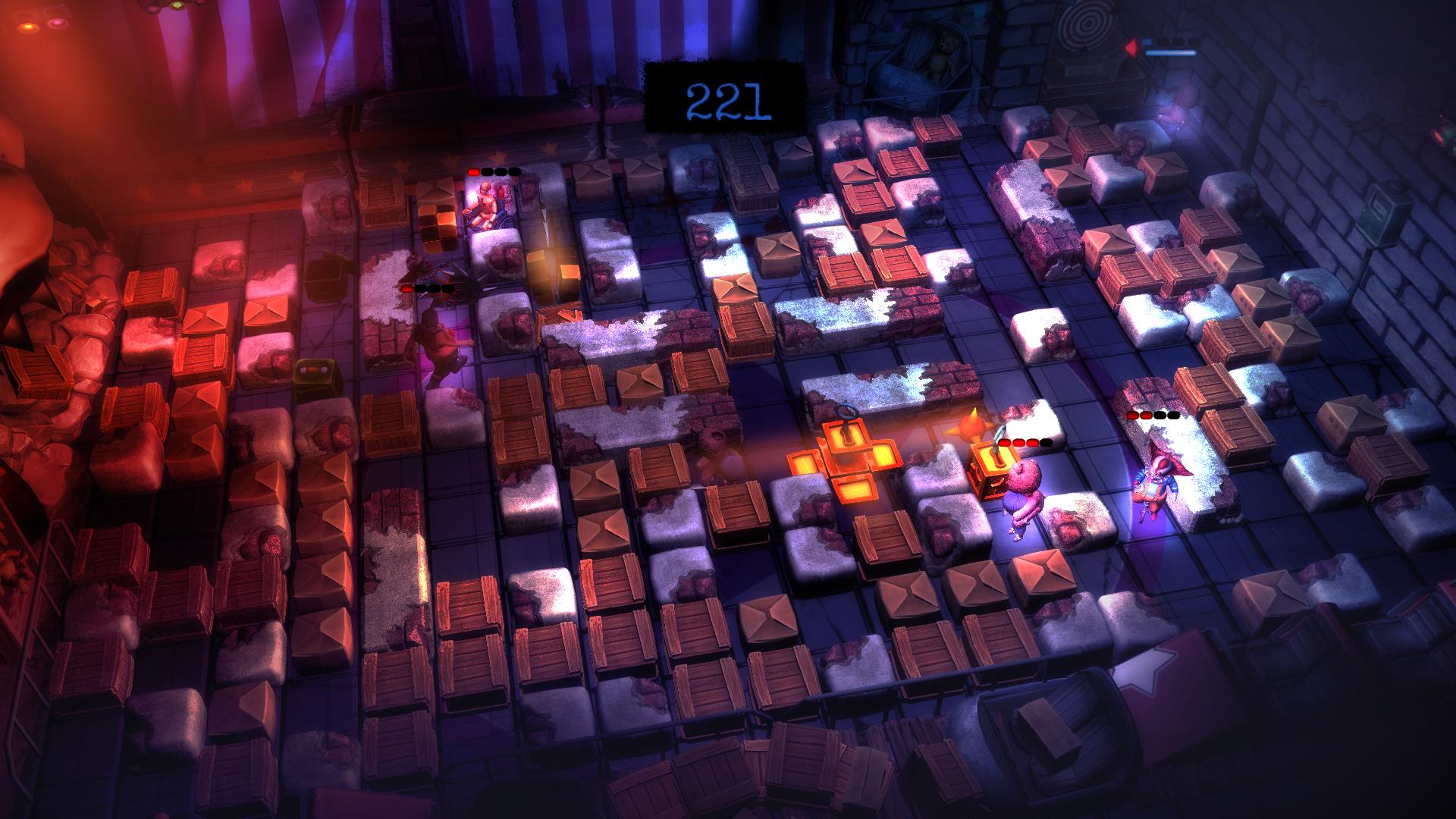 Polská verze Bombermana ve hře Basement Crawl 90363