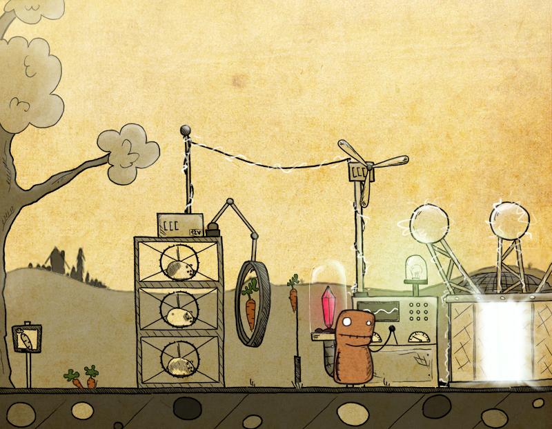 Představena ručně kreslená adventura Gomo 90401