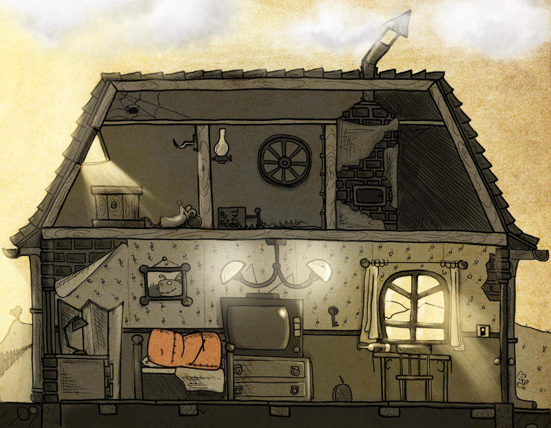 Představena ručně kreslená adventura Gomo 90402