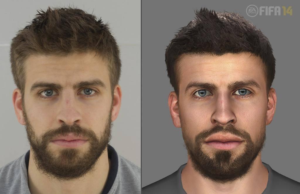 Next-gen FIFA 14 se chlubí detailními obličeji hráčů 90410