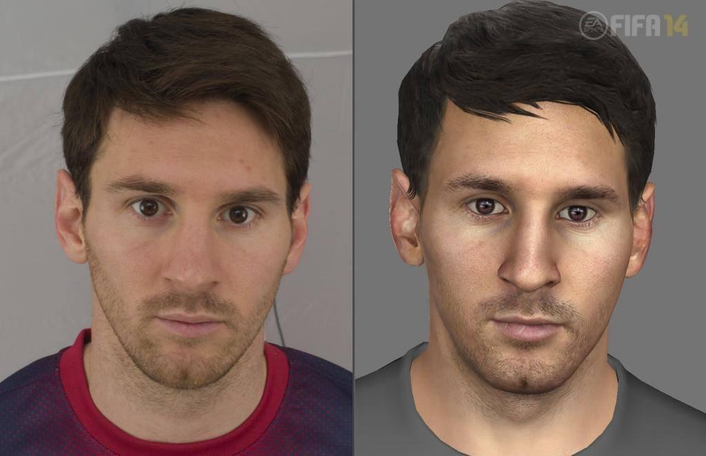 Next-gen FIFA 14 se chlubí detailními obličeji hráčů 90413