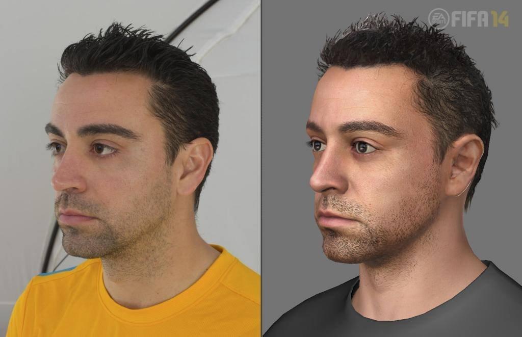 Next-gen FIFA 14 se chlubí detailními obličeji hráčů 90414