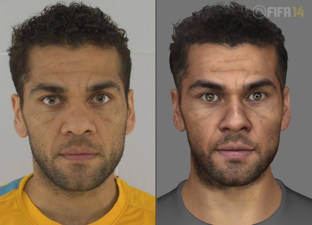 Next-gen FIFA 14 se chlubí detailními obličeji hráčů 90415