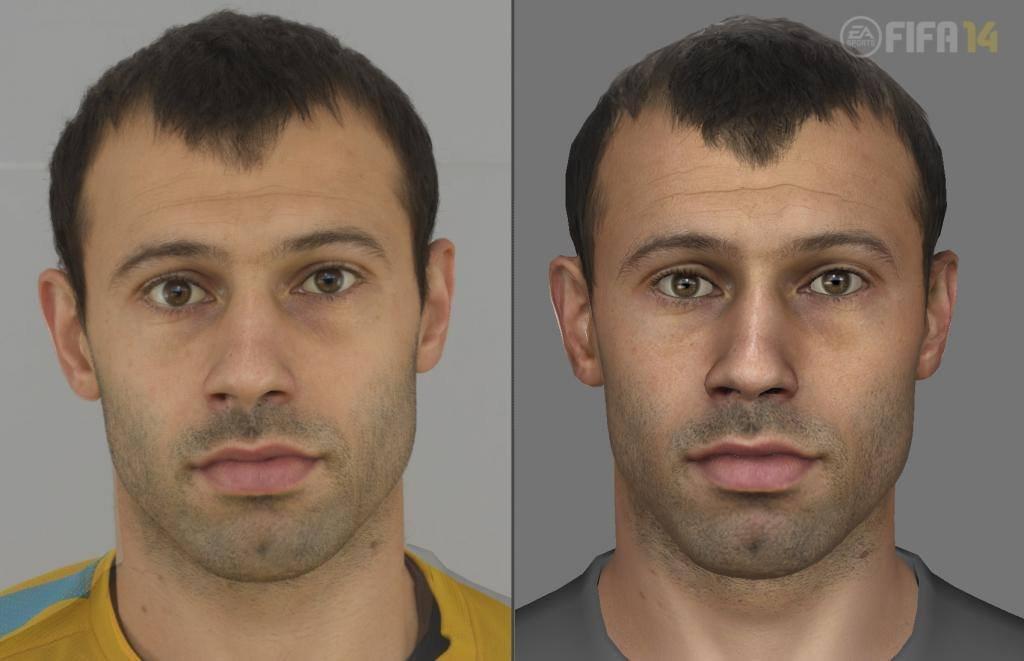 Next-gen FIFA 14 se chlubí detailními obličeji hráčů 90416