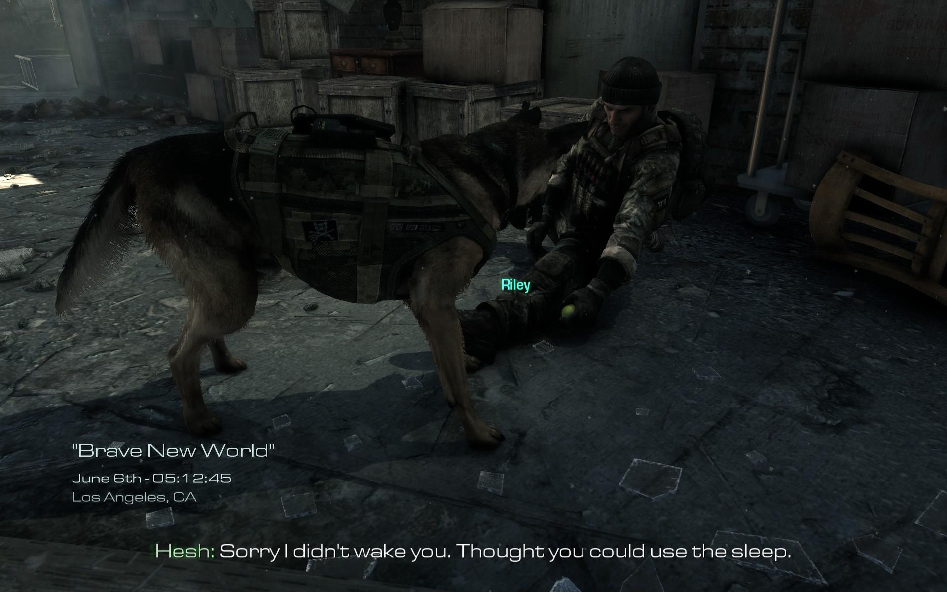 Pes Riley z Call of Duty: Ghosts se dočkal lepší srsti 90427