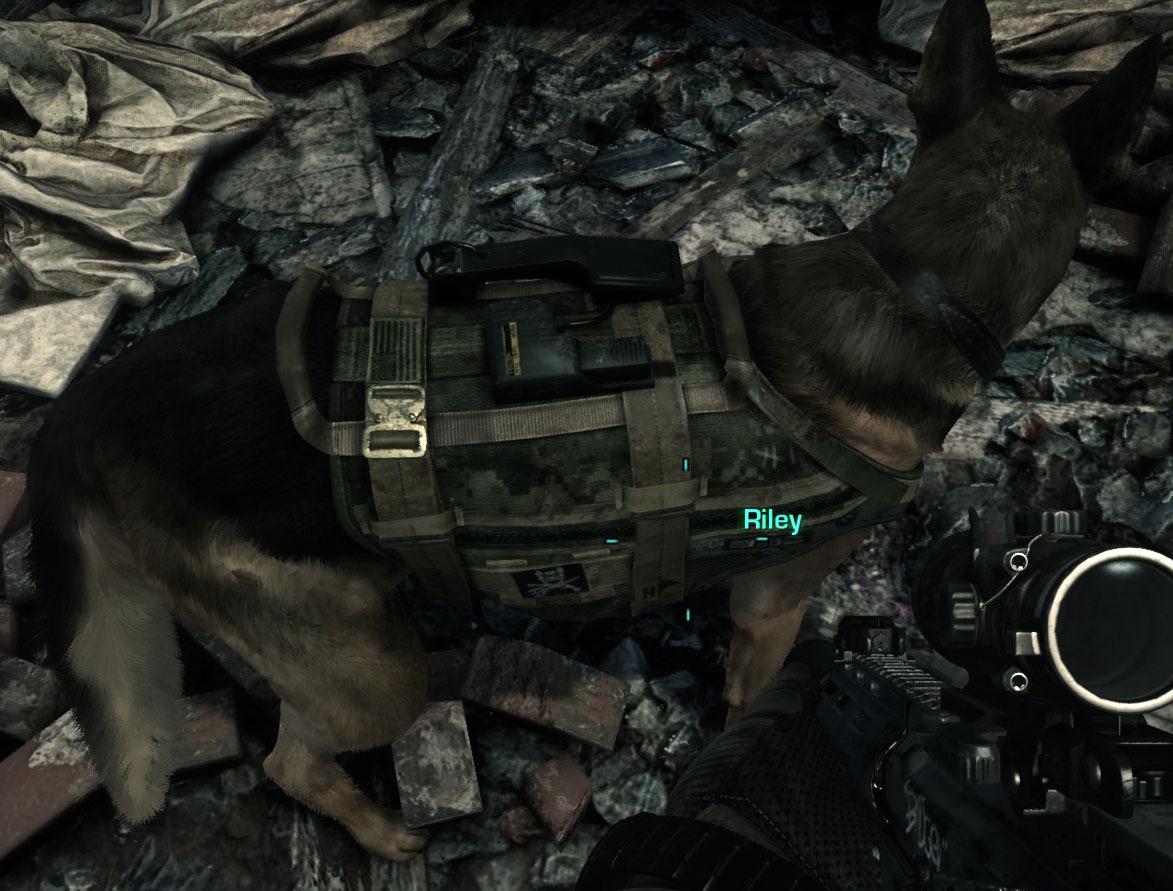 Pes Riley z Call of Duty: Ghosts se dočkal lepší srsti 90432