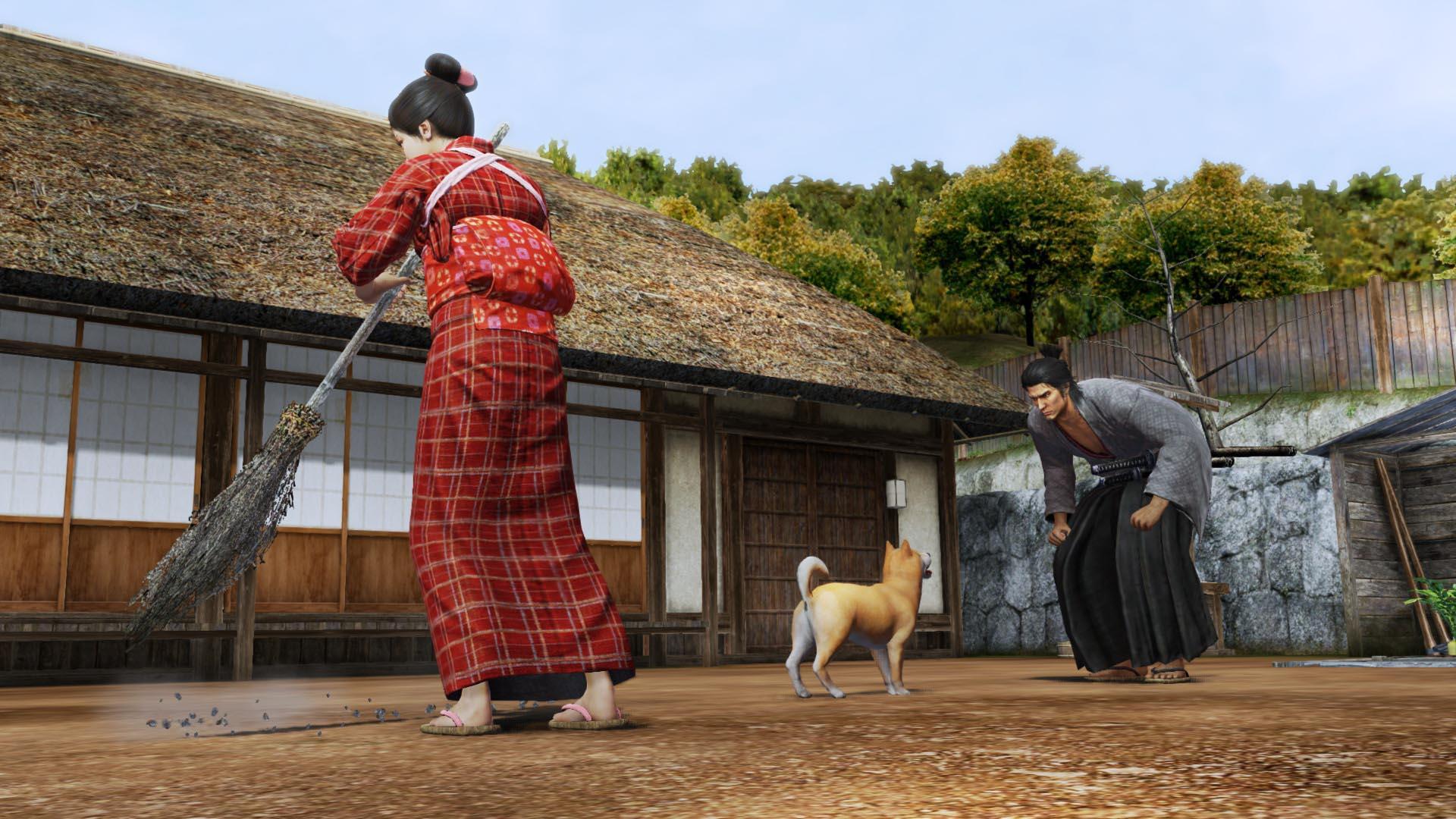 Yakuza: Ishin ukazuje netypické možnosti 90451