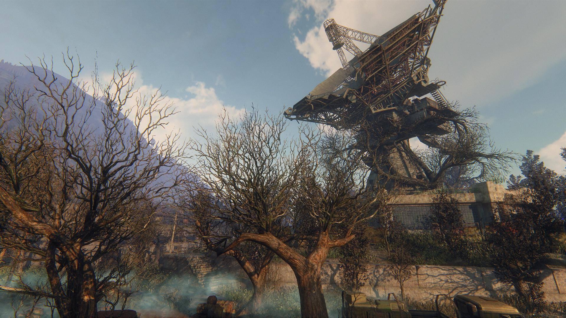 Zarostlé a rozpadající se budovy v Survarium 90476