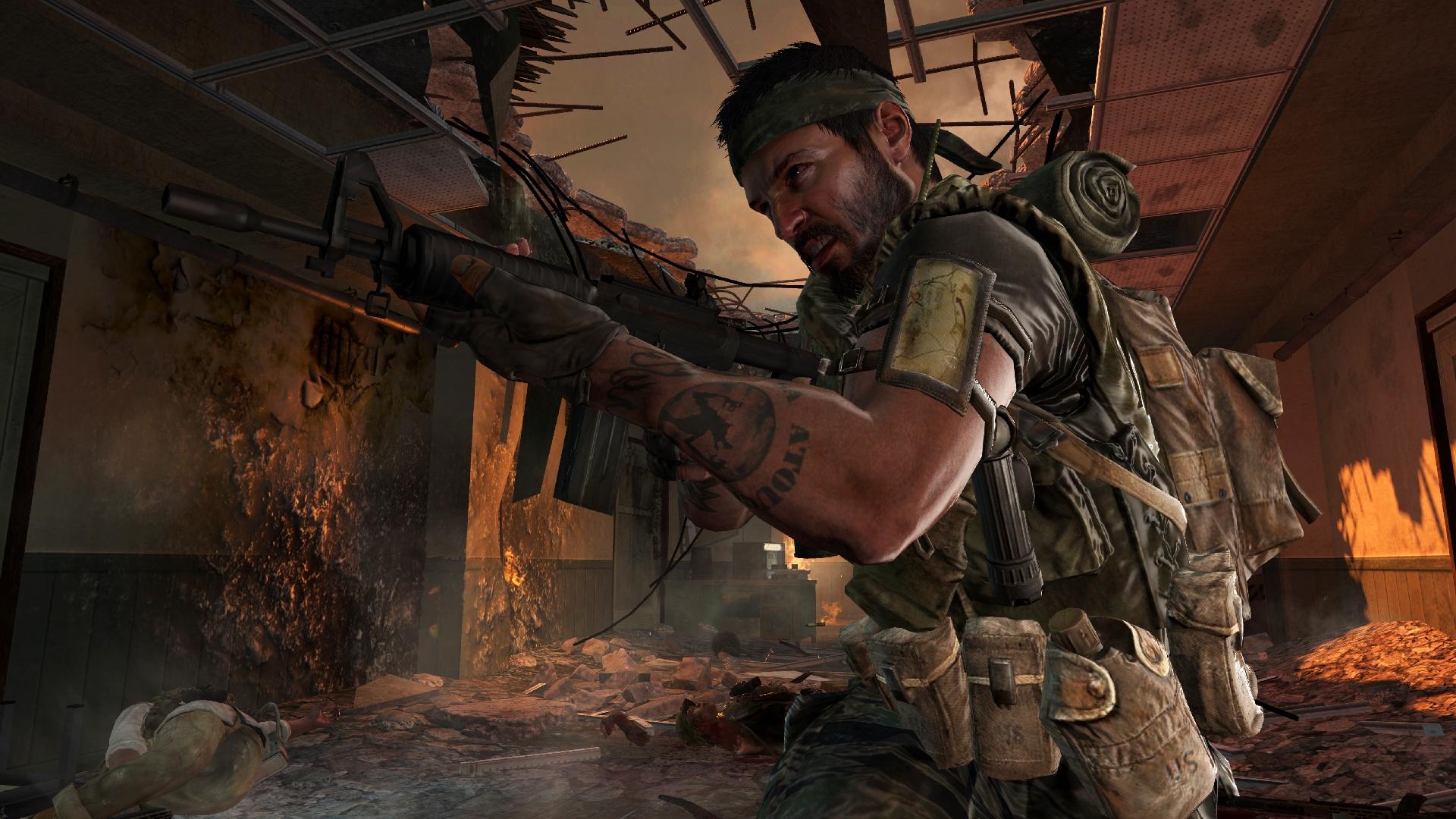 Gary Oldman a Ed Harris v Call of Duty: Black Ops 9049