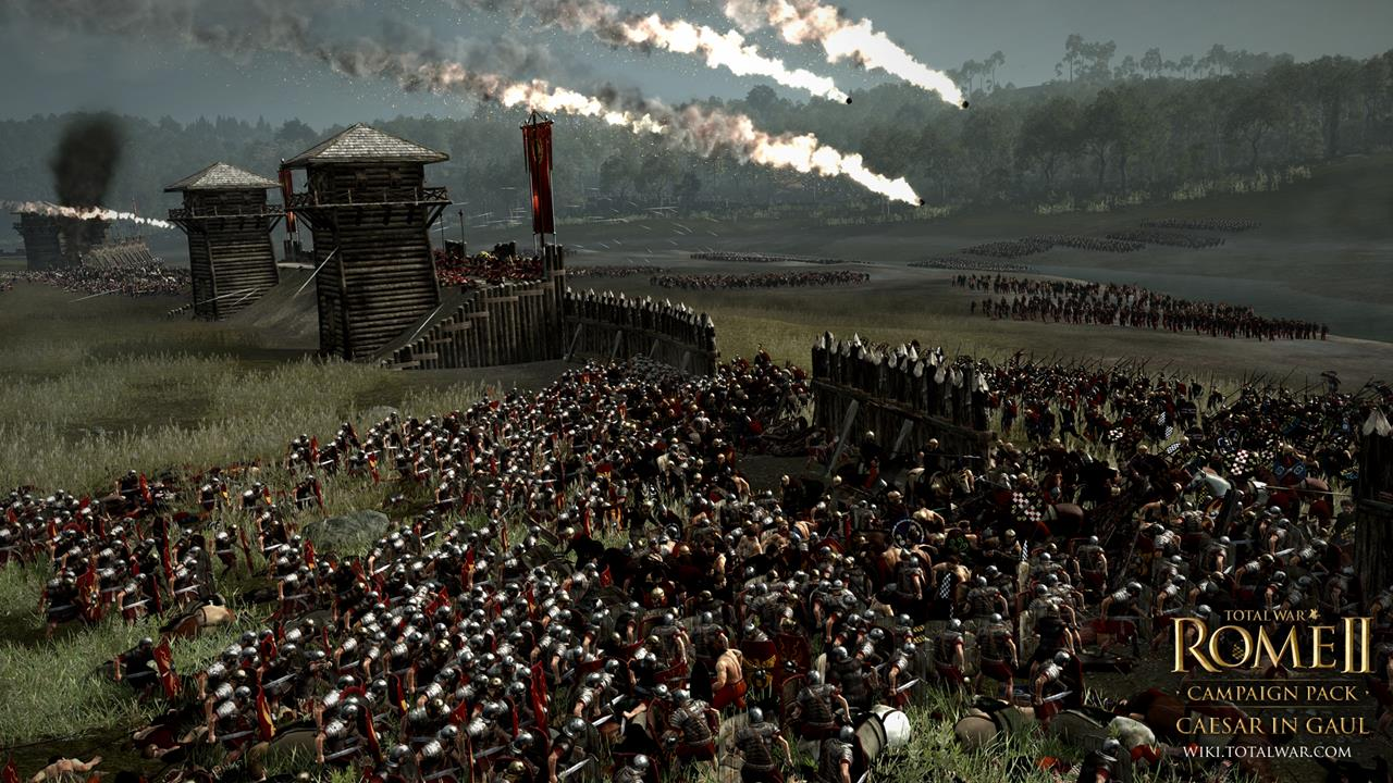 Total War: Rome 2 rozšíří expanze Caesar v Galii 90541