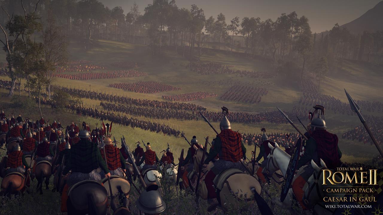 Total War: Rome 2 rozšíří expanze Caesar v Galii 90542