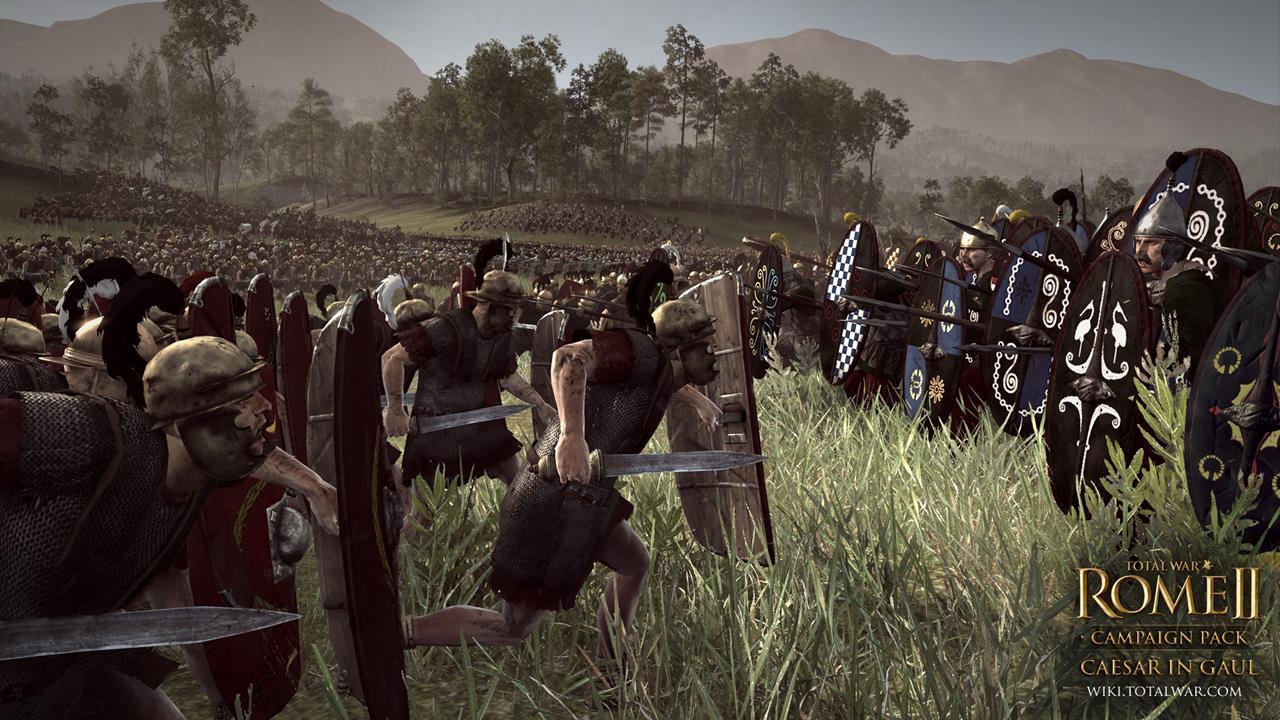Total War: Rome 2 rozšíří expanze Caesar v Galii 90544