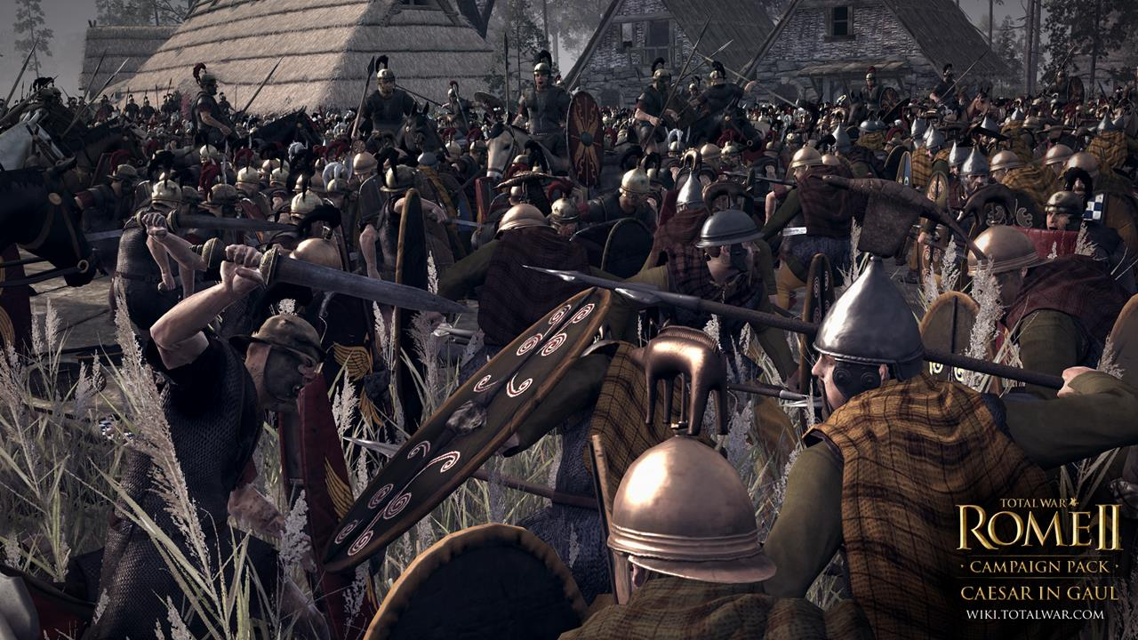 Total War: Rome 2 rozšíří expanze Caesar v Galii 90545