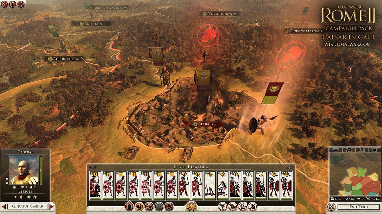 Total War: Rome 2 rozšíří expanze Caesar v Galii 90546