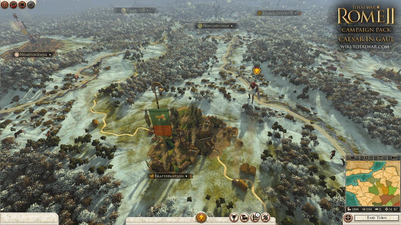 Total War: Rome 2 rozšíří expanze Caesar v Galii 90547