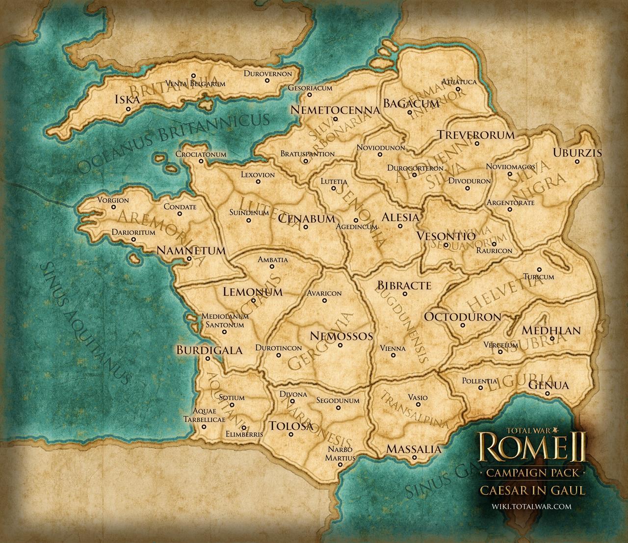 Total War: Rome 2 rozšíří expanze Caesar v Galii 90548