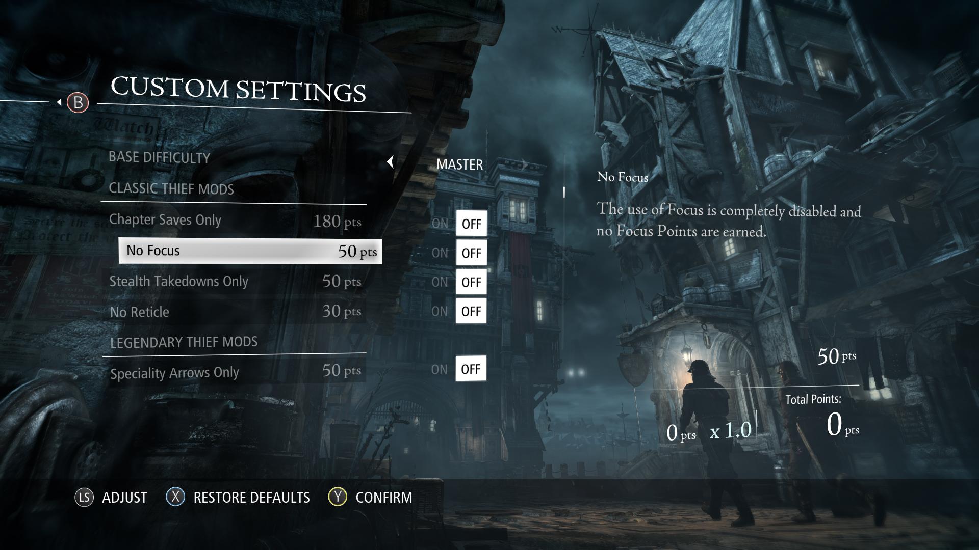Thief vám umožní upravit si interface 90580