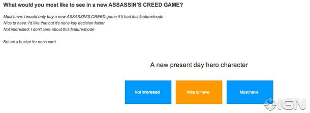 Jaký chtějí hráči další Assassin's Creed? To zjišťuje Ubisoft 90613