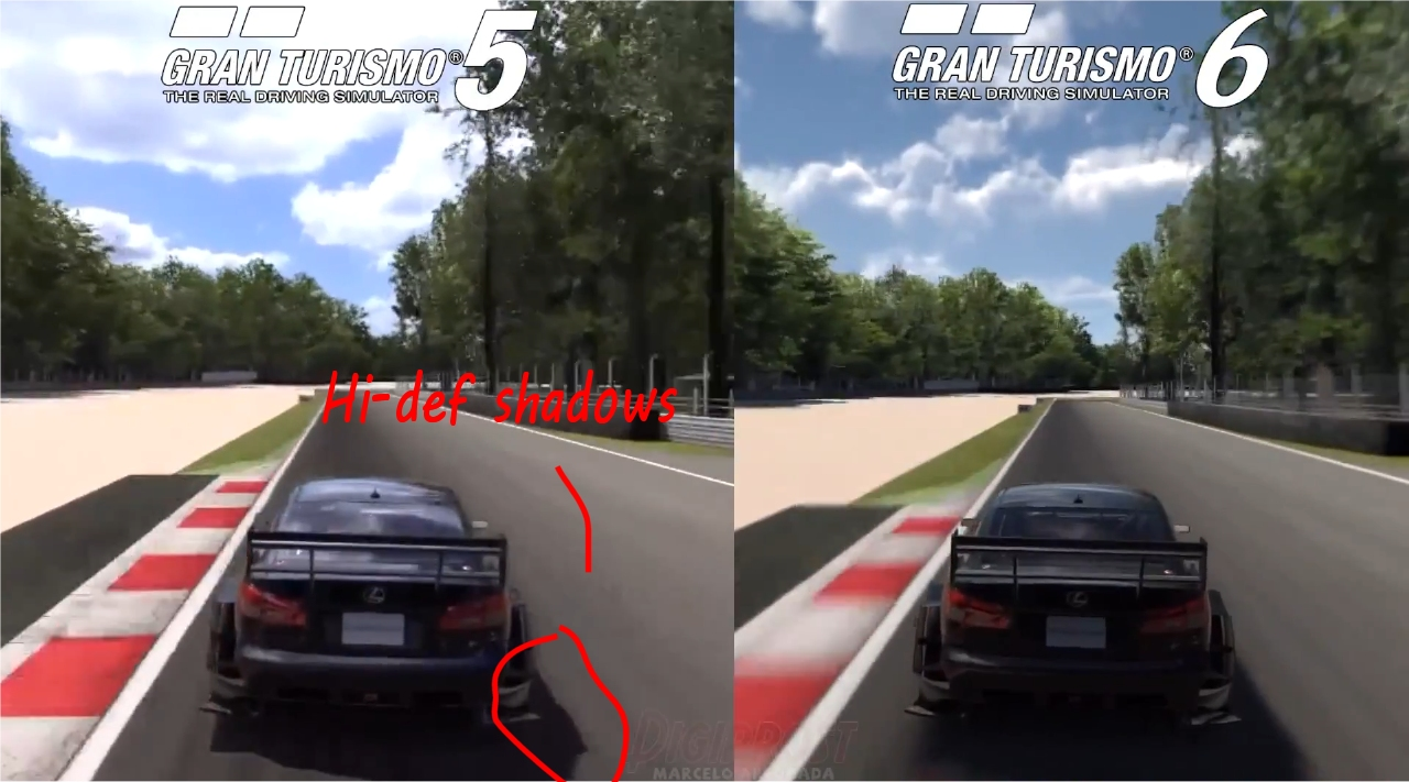 Porovnejte grafickou stránku Gran Turisma 5 a 6 90631