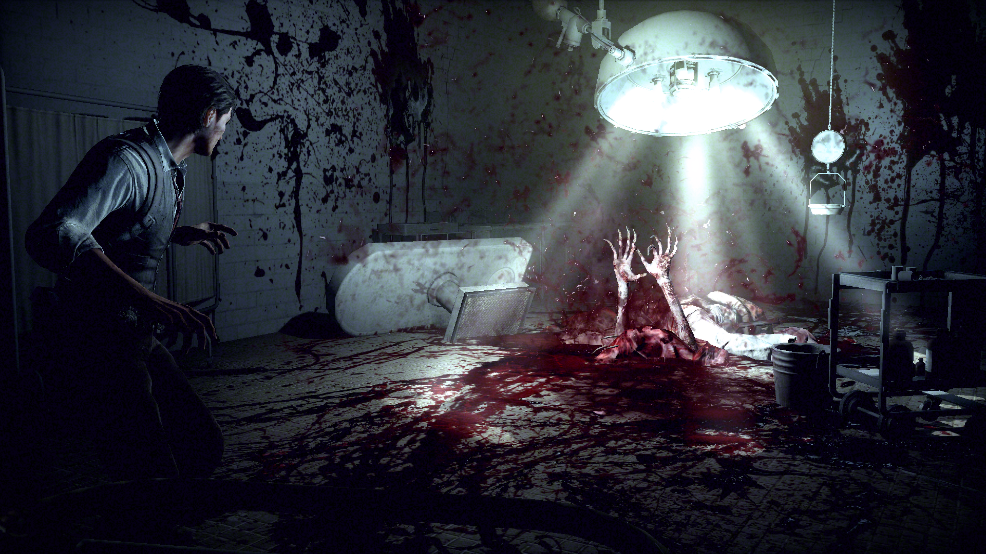 Obrazem: The Evil Within a Wolfenstein: The New Order 90705