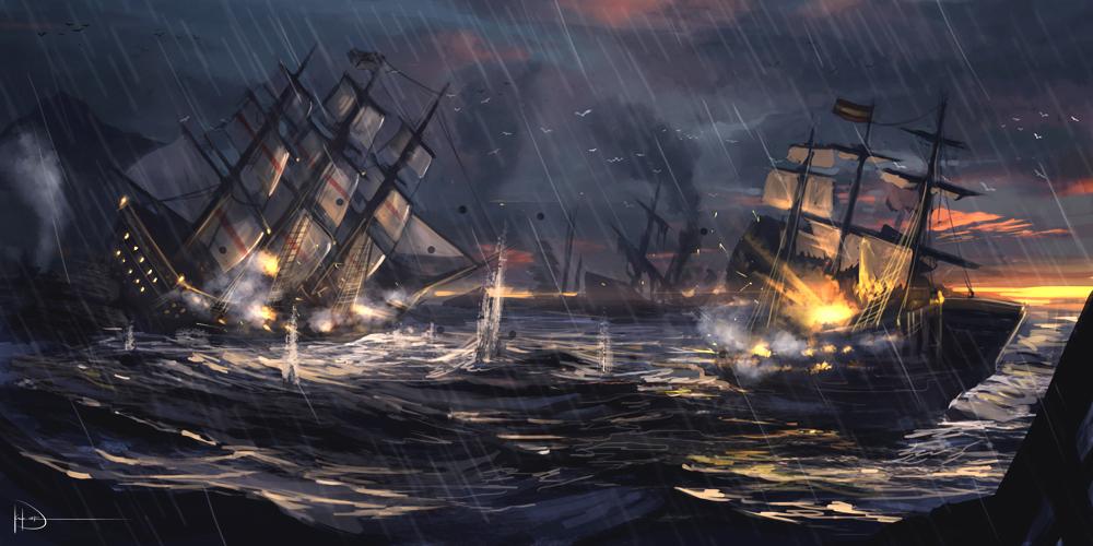 Úžasné artworky inspirované Assassin's Creed 4 90744