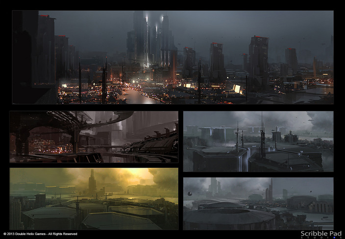 Grafik The Last of Us zveřejnil koncepty ze sci-fi hry od Double Helix 90770