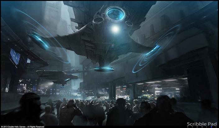 Grafik The Last of Us zveřejnil koncepty ze sci-fi hry od Double Helix 90771