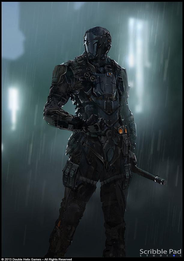 Grafik The Last of Us zveřejnil koncepty ze sci-fi hry od Double Helix 90772