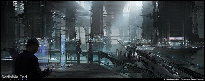 Grafik The Last of Us zveřejnil koncepty ze sci-fi hry od Double Helix 90773