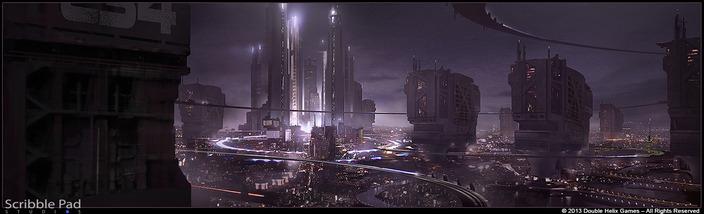 Grafik The Last of Us zveřejnil koncepty ze sci-fi hry od Double Helix 90774