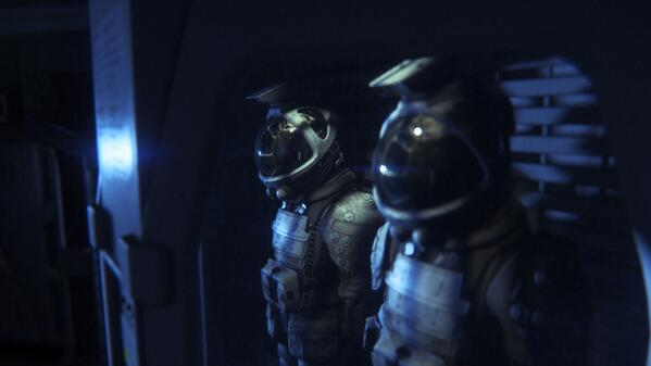 Ponurá atmosféra na obrázcích z Alien: Isolation 90801