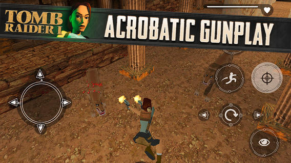 Pro iOS vyšel první díl Tomb Raider 91009