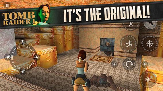 Pro iOS vyšel první díl Tomb Raider 91013