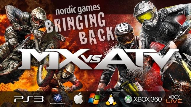 MX vs ATV sérii se pokusí oživit Nordic Games 91103