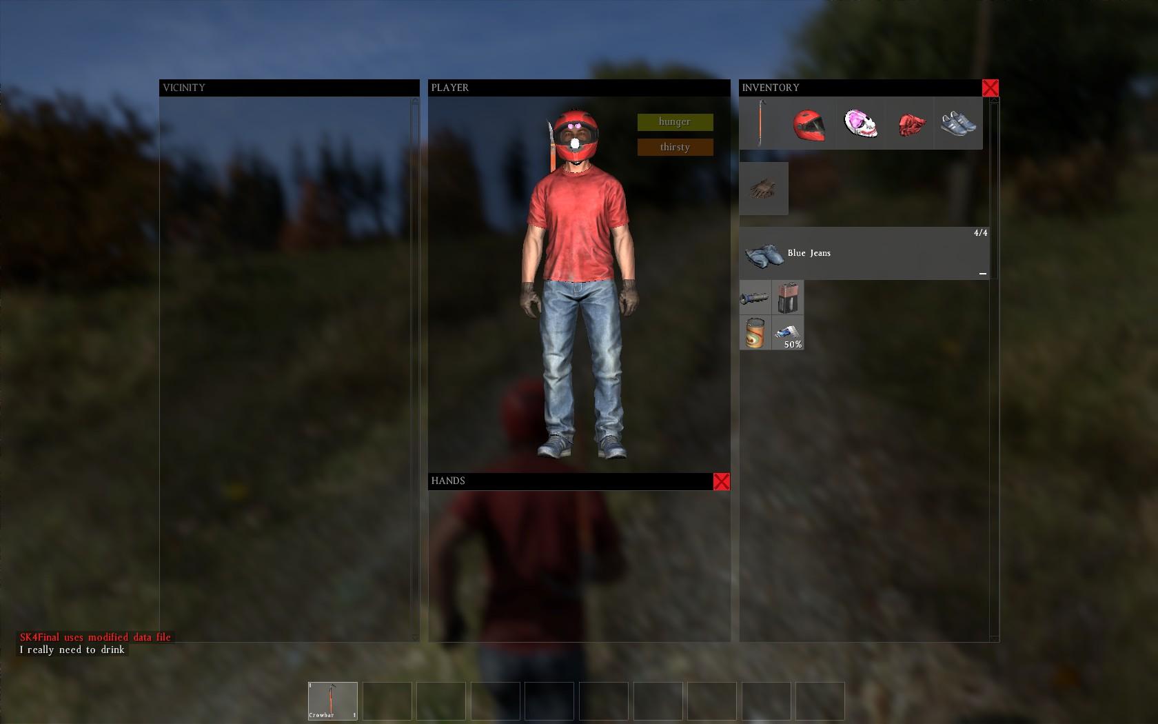 Screenshoty vytípáné z hraní DayZ 91112