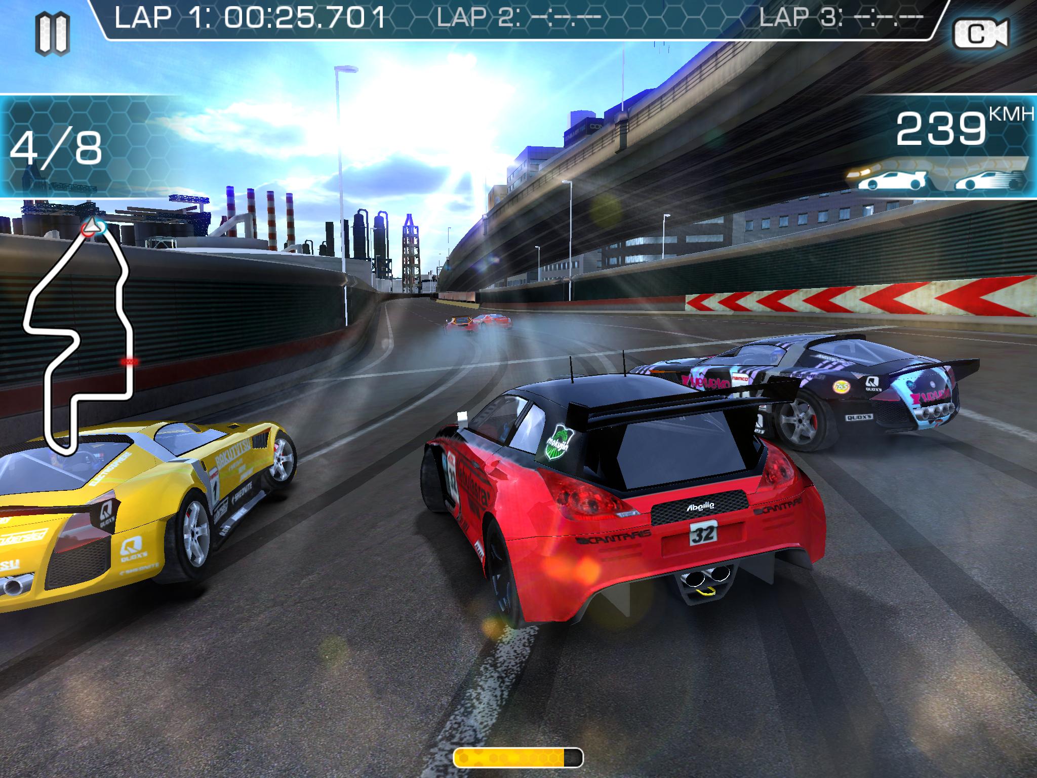 Ridge Racer: Slipstream dostupné pro iOS 91144