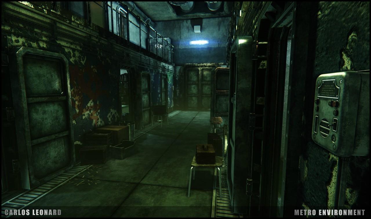 Takhle by mohlo vypadat Metro s využitím CryEngine 91291