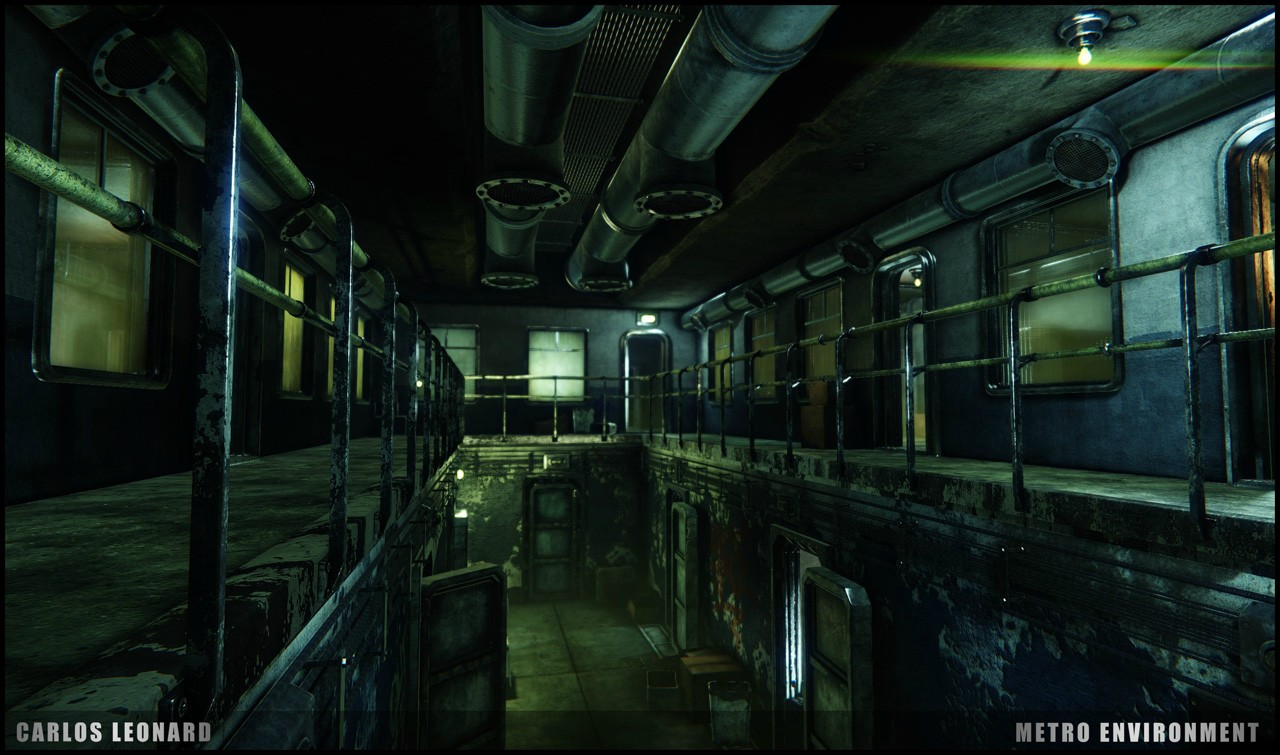 Takhle by mohlo vypadat Metro s využitím CryEngine 91292
