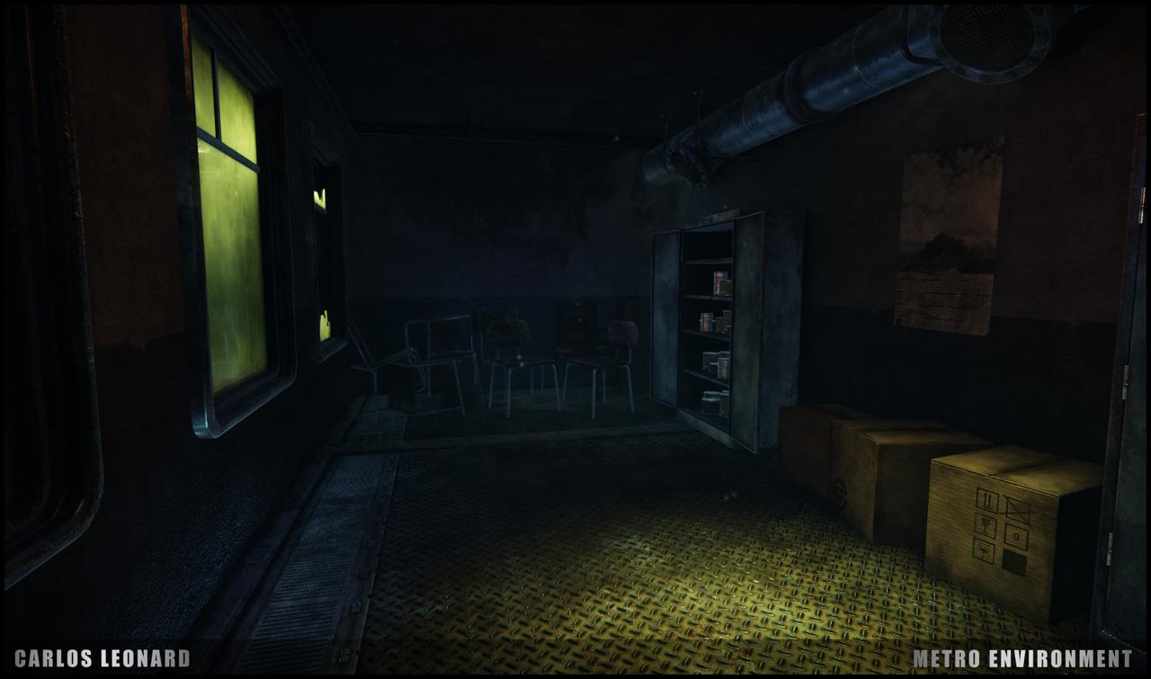 Takhle by mohlo vypadat Metro s využitím CryEngine 91299