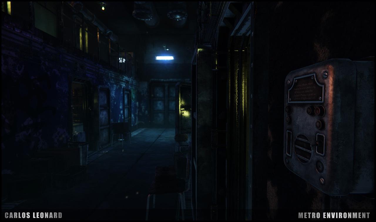 Takhle by mohlo vypadat Metro s využitím CryEngine 91300