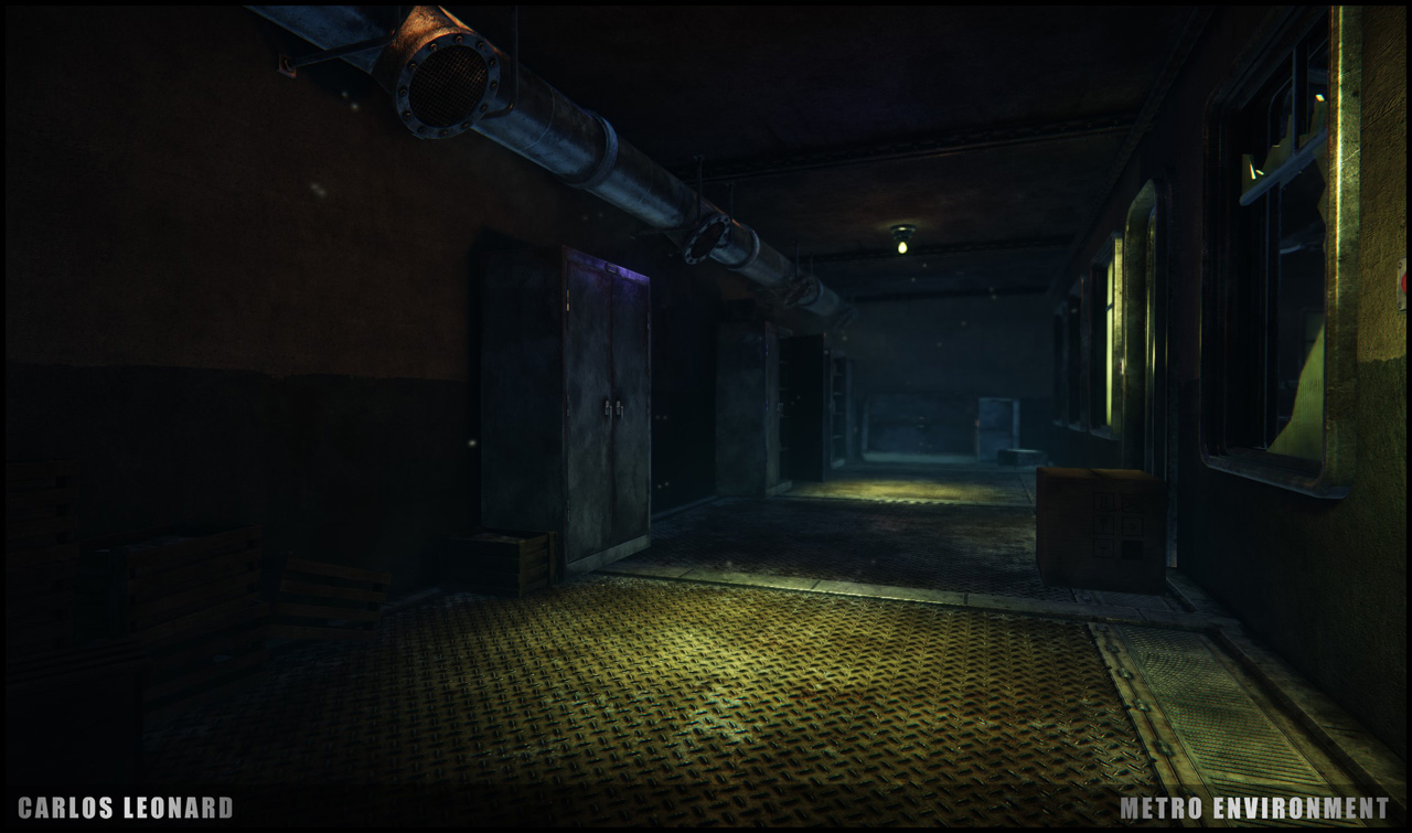 Takhle by mohlo vypadat Metro s využitím CryEngine 91303