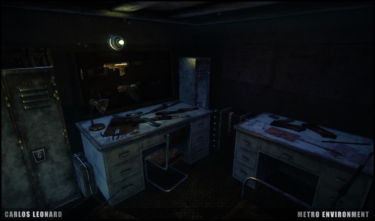 Takhle by mohlo vypadat Metro s využitím CryEngine 91306