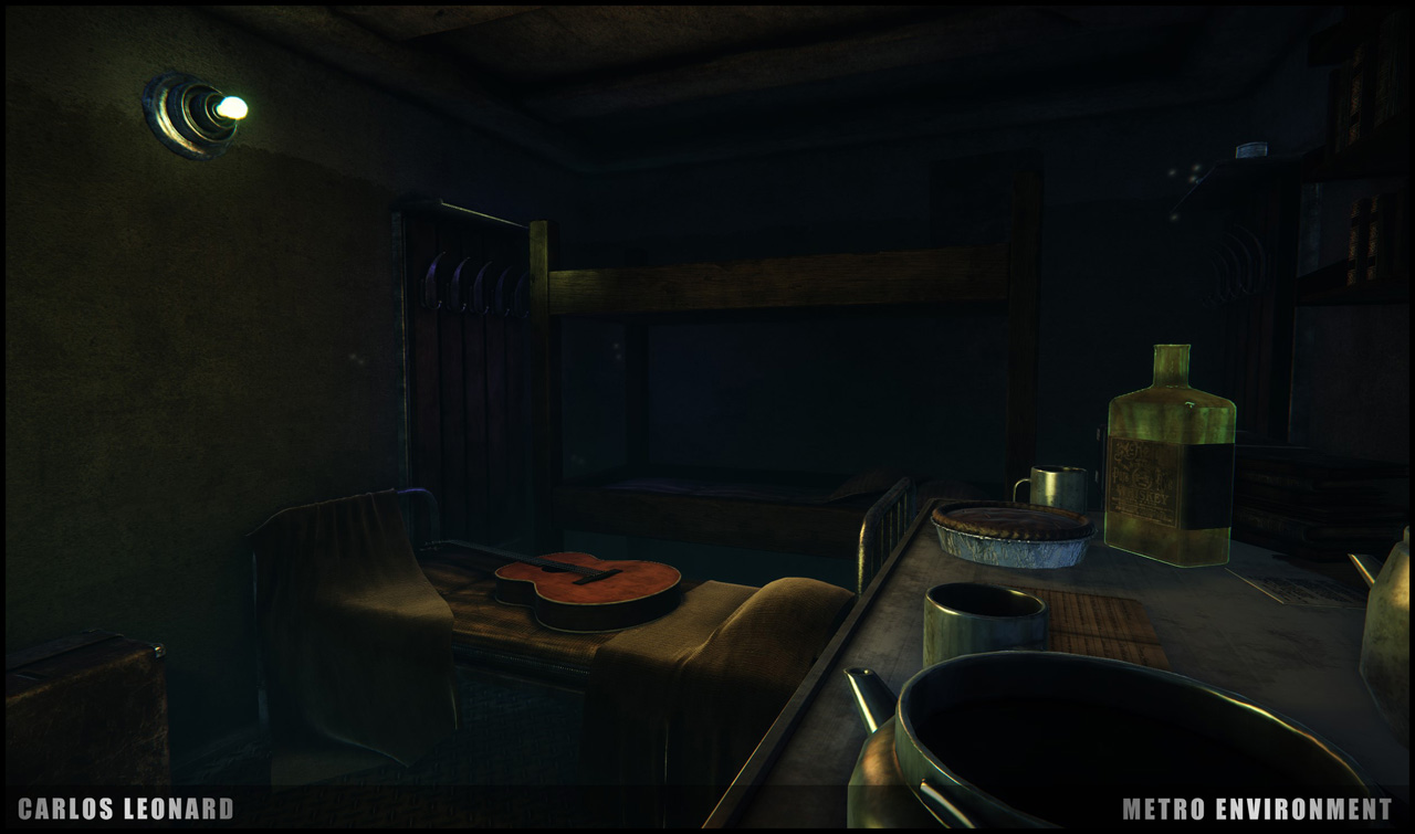 Takhle by mohlo vypadat Metro s využitím CryEngine 91309