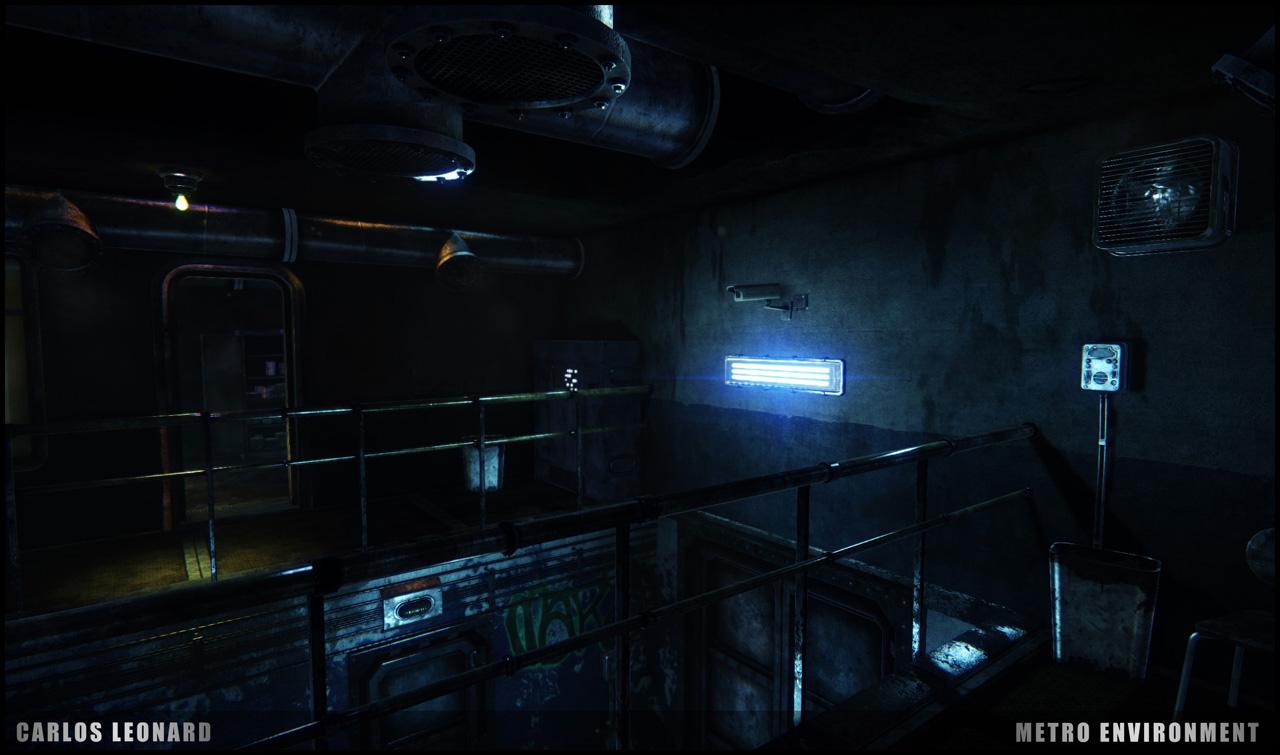 Takhle by mohlo vypadat Metro s využitím CryEngine 91310