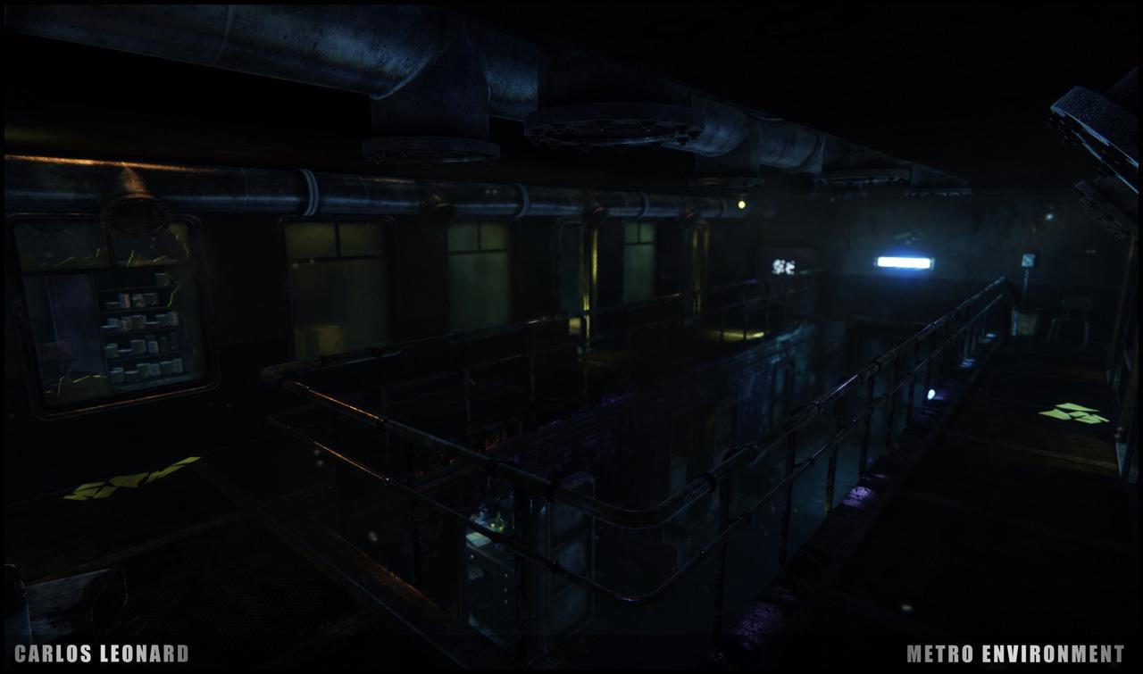Takhle by mohlo vypadat Metro s využitím CryEngine 91311